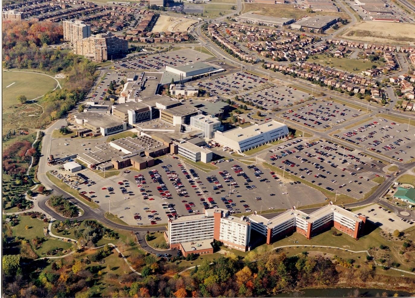Вид на северный кампус