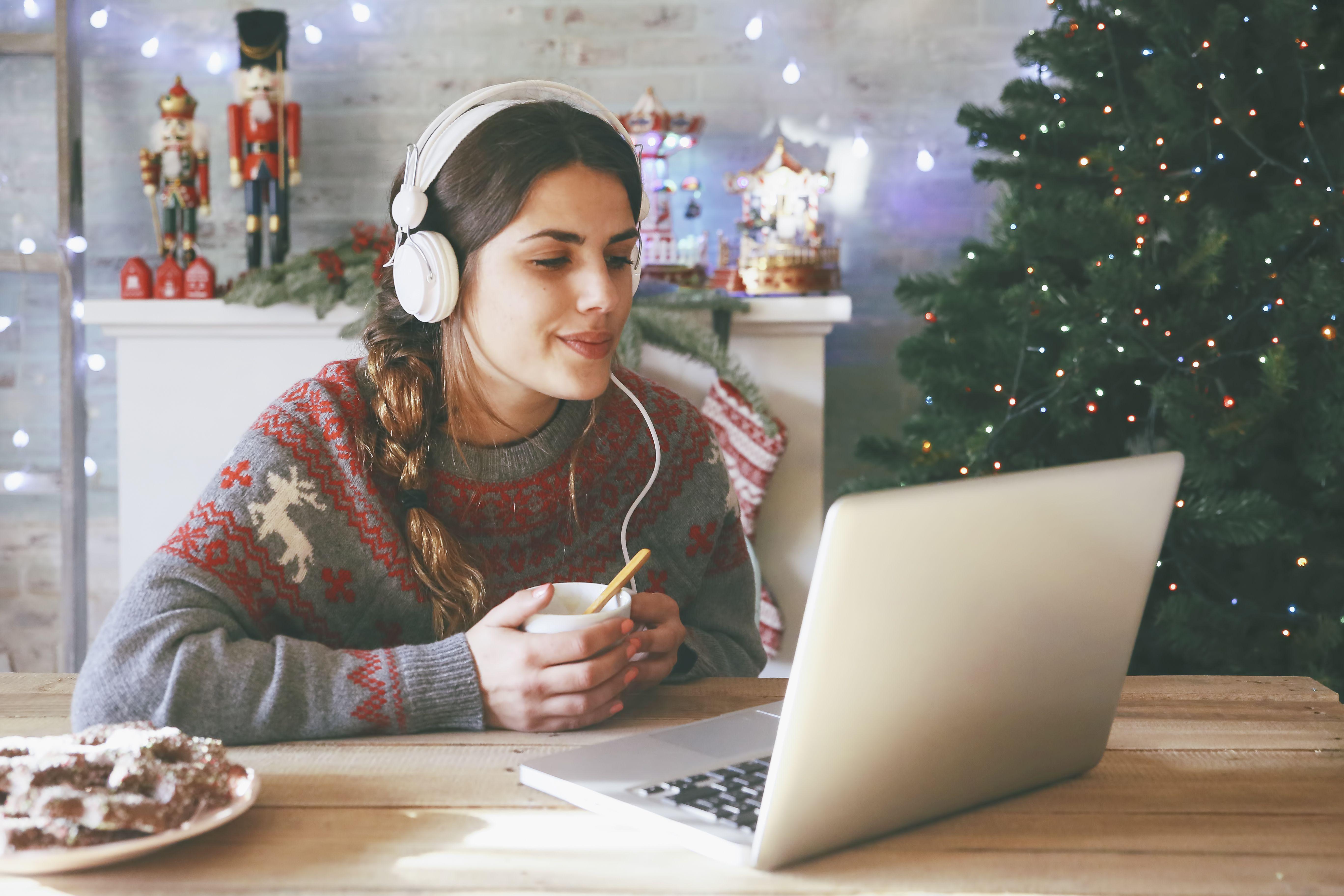 Хамбер создает рождественское настроение