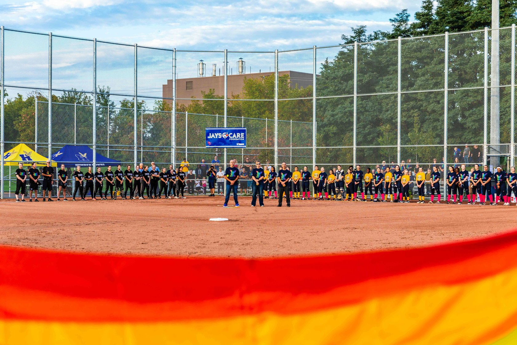 Humber vs Conestoga Softball Match