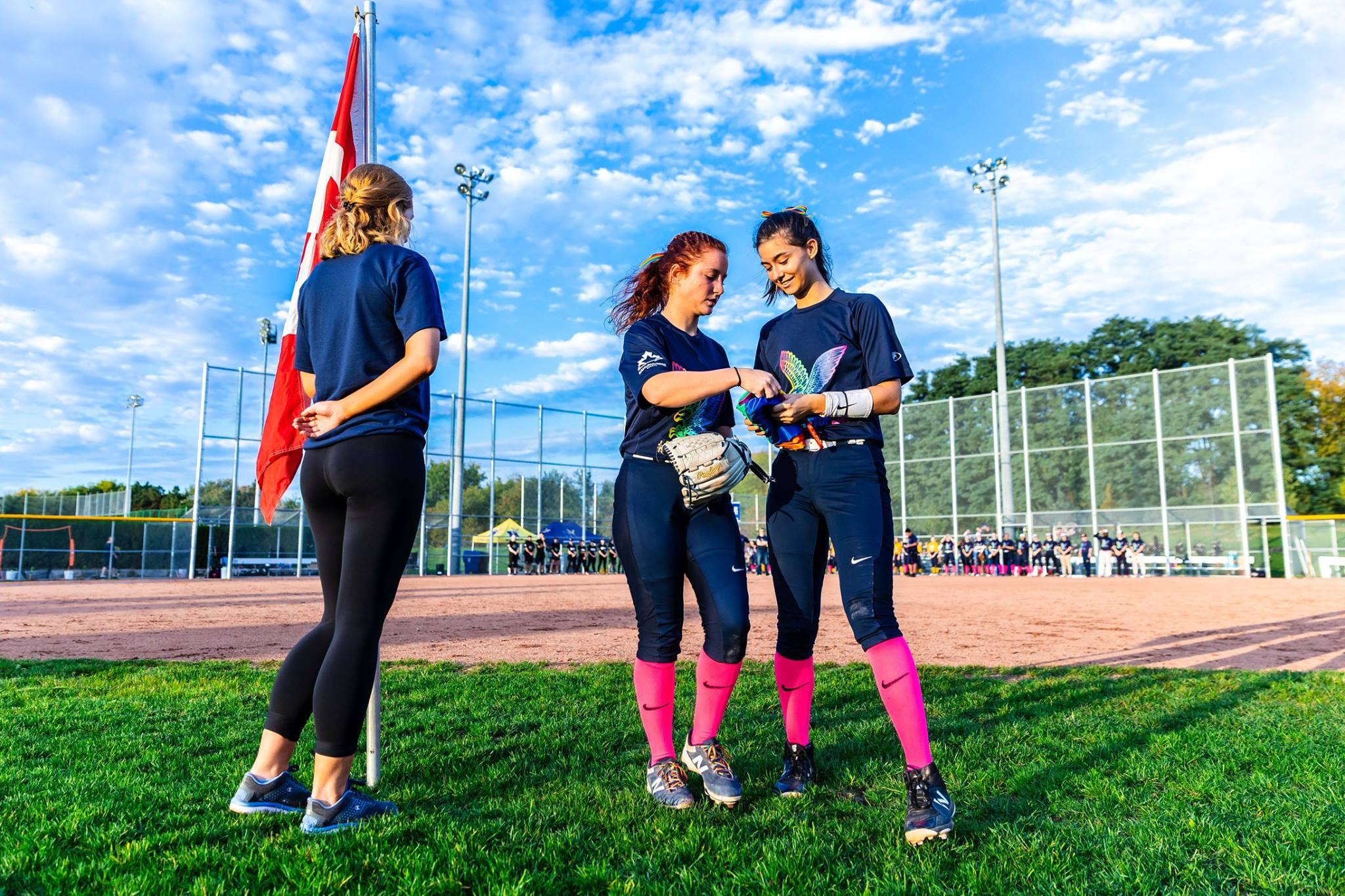 Humber vs Conestoga Softball Match